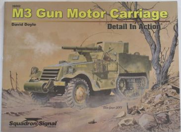 M3 Gun Motor Carriage - Detail in Action, by David Doyle